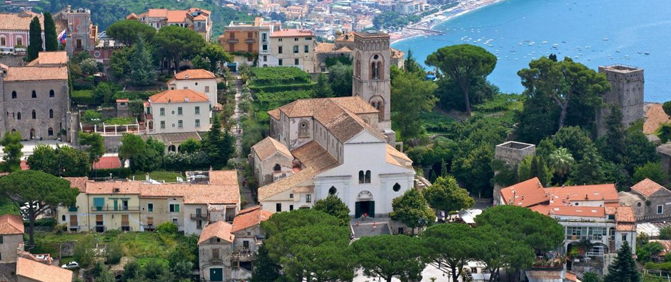 Travel and Tourist Information on Ravello Amalfi Coast Italy