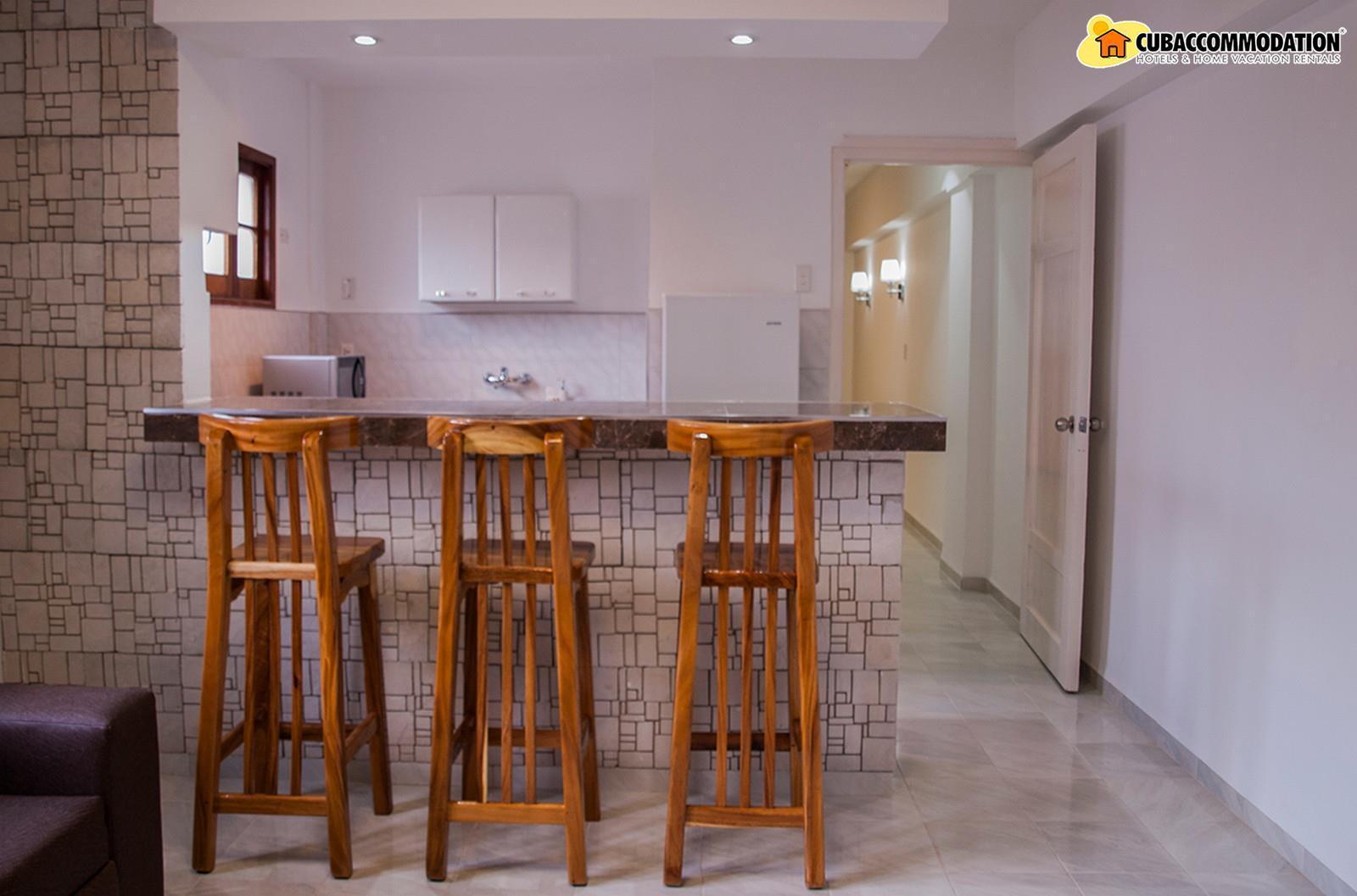 Apartments, Apartment M3, Havana City, Vedado, Home vacation