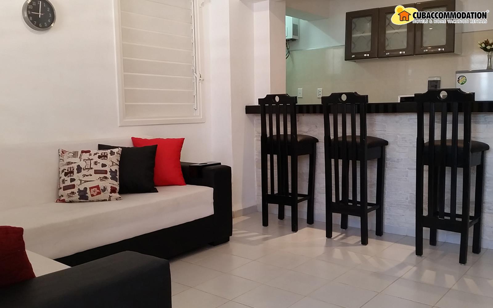 Apartments, Apartment M4, Havana City, Vedado, Home vacation