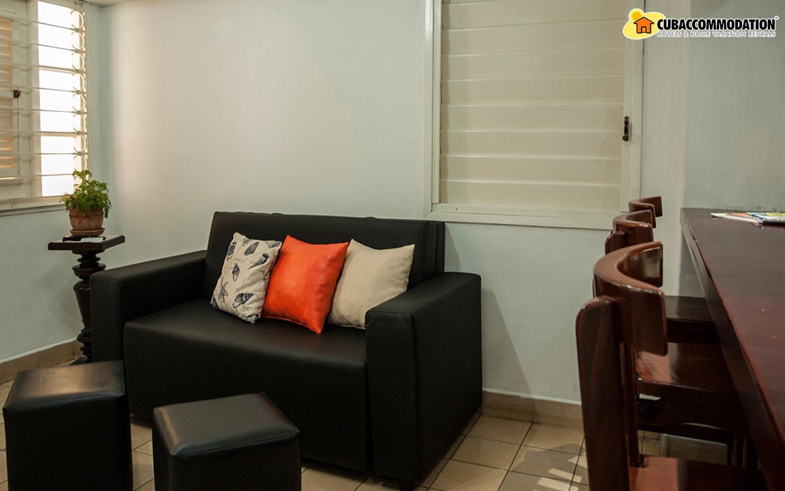 Apartments, Apartment M5, Havana City, Vedado, Home vacation
